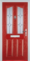 GRP Composite Doors 2 Panel 2 Angle image