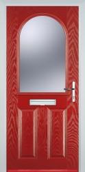 GRP Composite Doors 2 Panel 1 Arch image