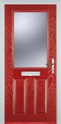 GRP Composite Doors 2 Panel 1 Square image