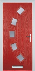 GRP Composite Doors 5 Square Curved image