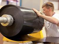 Donarra HDPE Roll Stock image