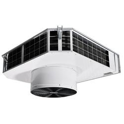 Ceiling mounted fan heater with water heat. Application The SWT fan heater is used for heating entrances, stores, industrial premises, workshops, sports halls, garages and shops. The low height means that SWT can also be recessed into a suspended ceiling.  Des...