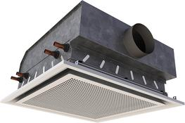 Halo is one of Frenger's latest range of high performance Chilled Beams. Energy efficiency has been a key driver for such advancements in Frenger's Chilled Beam Technology.  Halo is only 230mm deep and can achieve up to 1463 watts total cooling (based on a 1.2...