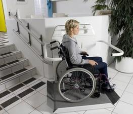 The Cam 6 Wheelchair Stairlift image