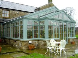ALUMINIUM ORANGERIES AND CONSERVATORIES image