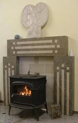 As with all our products the fire surrounds are also manufactured to your specifications, we never make two identical fireplaces. In the showroom we have a selection of fireplaces on display along with drawings of previously manufactured surrounds to give you ideas.   We ask that you find a few pictures of the style and detail that you would like on your fireplace and bring these along with you to the showroom with some rough sizes and from these we can put the ideas together and create your bespoke fire surround. There is a choice of stone to use, the majority of customers choose a limestone or marble as these tend to be lighter in colour and less busy in the pattering than a granite, but granite can also be used if this is your preference.