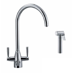 Franke Doric Filterflow 3-Way Triflow Tap with Hand Spray image