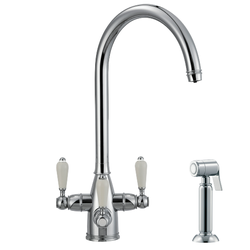 Franke Corinthian Filterflow 3-Way Triflow Tap with Hand Spray image