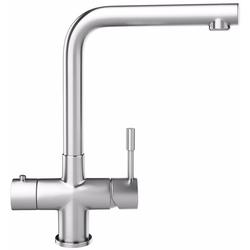 Franke Minerva Mondial 3 in 1 Kettle Kitchen Mixer Tap in Stainless Steel image