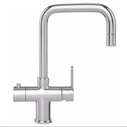 Franke Minerva Irena 3 in 1 Kettle Kitchen Mixer Tap in Chrome image
