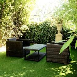 """30mm pile 2 tone summer green blades with a 20mm green & brown curled root system.  This is a top quality all round artificial grass, now softer and more tactile than before.  R.R.P. £32.99 per square metre.  Now Only """"£16.99″ per square metre.  Save a s..."""