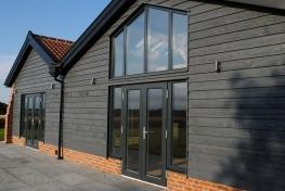 Double glazed timber double doors (78mm depth) image