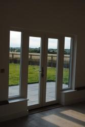 Triple glazed timber double doors (78mm depth) - GreenSteps Ltd