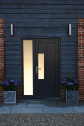 Triple glazed timber entrance doors (78mm) image