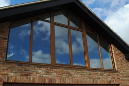 Euro profile tilt and turn triple glazed timber windows (92mm) image