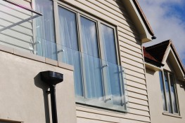 Euro profile tilt and turn triple glazed timber aluminium composite windows (78mm) image