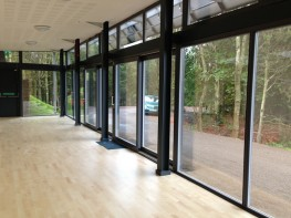 Lift and slide triple glazed timber doors (78mm) image