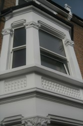 Triple glazed timber mock sliding sash windows (92mm) image