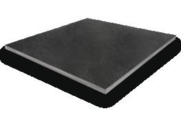 2cm Slate Riven Black Paving image