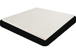 2cm Slate Riven White Paving image