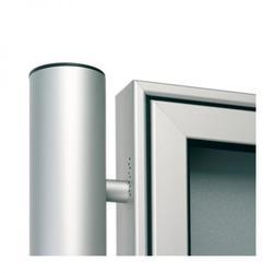 2-bay, 6 x A4, A-Max aluminium noticeboard (Ref: AXD6) image
