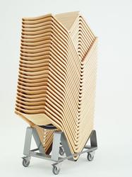 Theo chairs - Chorus Furniture - Beautiful wooden stacking chair - New Design Group