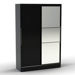Lynx Sliding Wardrobe - Black image