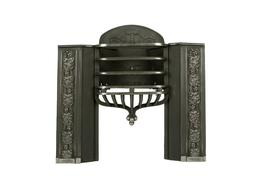 Cast Iron Regency half Hob grate from the famous Carron foundry c1830 ...