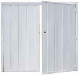 Side Hinged Garage Doors image