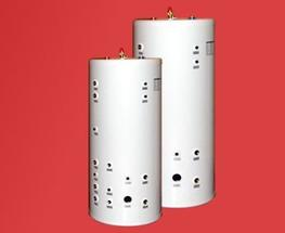 For larger domestic and commercial projects, our dedicated heating buffer cylinders are used in conjunction with our high-gain unvented cylinders to allow greater variation between heating and hot water demand.  Versatility for larger projects  Our dual cylind...