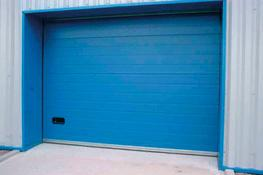 Insulated Sectional Doors image