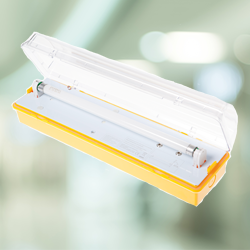 Meteor 110V — Fluorescent Luminaire - Channel Safety Systems Ltd