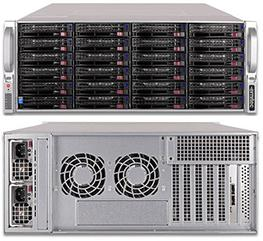 The Pegasus 5 Series is ideal for recording lots of cameras. When you record over 500 cameras in one server you will need a lot of storage. With our range of external storage system you can combine 6 racks in a daisy chain to give up to 864 terabytes of storag...