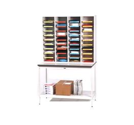 Open Clearview Unit with Open Bench / Bottom Shelf image