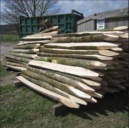Round Timber Fencing image