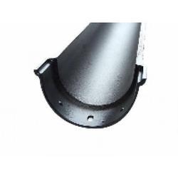 Deep Beaded Cast Aluminium Gutter image