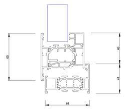 SMART Alitherm 800 Aluminium Window image