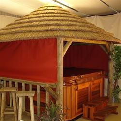 3.8m Lapa Thatched Spa Gazebo image