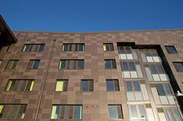 Extruded Terracotta rainscreen cladding image