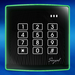 Access Control - AR-888H Proximity Controller, Reader and Keypad image