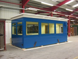 GRP Kiosk / kiosks / Building / Buildings / Enclosure / Enclosures (Glass Reinforced Polyester / Fibre glass) Kiosks & buildings - Quinshield Ltd