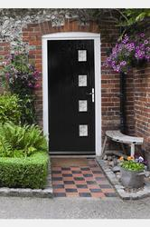 The quality of the door and frame is widely recognised by the trade as one of the best available. The doors comprise of a tough, hard-wearing Glass-Reinforced Plastic (GRP) outer skin over a rigid foam infill panel and feature the latest multi-point-locking s...
