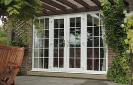 Product information for upvc french doors by eurocell for How to install upvc french doors exterior