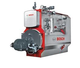 The U-MB steam boiler is a three-pass flame and smoke tube boiler. It consists of several modules, namely the heat generating section in three-pass construction, the steam chamber on top of this, and an integrated economizer. Since it is a genuine three-pass b...