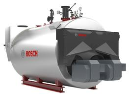 The UNIMAT UT-HZ hot water boiler is a shell boiler in 3-pass design with two completely separate flame tubes and flue gas passages. This double-flame tube/smoke tube boiler has been in use for decades and is built with separate flue gas passages. This means i...