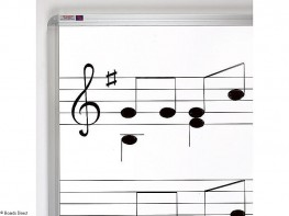 Music Ruled Whiteboards image