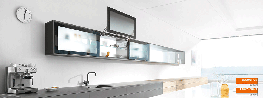 AVENTOS HL: The ultimate in ease and convenience AVENTOS HL is the ideal lift up system for mid and high wall units and for niche cabinets with cabinets positioned above them. For easy access to cabinet interiors. International design juries have presented AVE...