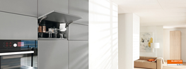 AVENTOS HK-S - Enhanced user convenience for small stay lifts AVENTOS HK-S is the right solution for small wall cabinets and for fitted units, e.g. above larder units or refrigerators. The fitting fits snugly into small furniture and ideally rounds off the exi...