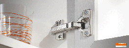 MODUL - Tried and tested over many years MODUL's combined slide-on and screw-fix feature has proven itself over the years. The functional hinge is very popular with furniture makers. Classic design and reliable function - a furniture lifetime.  Programme This ...