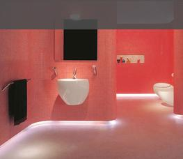 Laufen Il Bagno Alessi One Wall Mounted Basins by BMF Limited